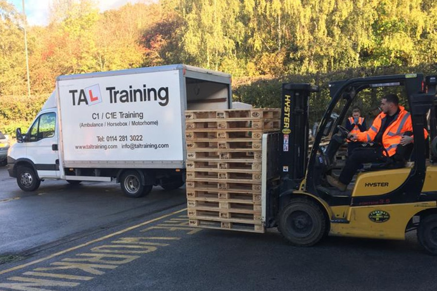 Forklift Truck Driver Training In South Yorkshire Tal Training