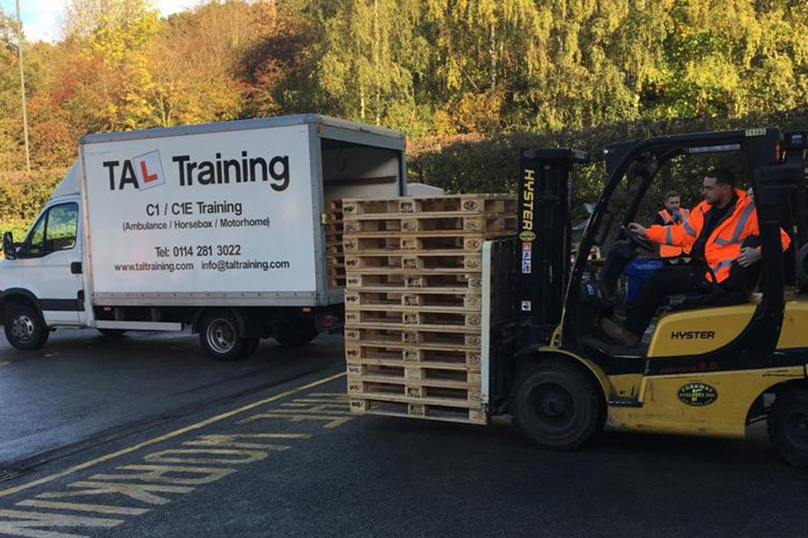 Sheffield-Fork-Lift-Training